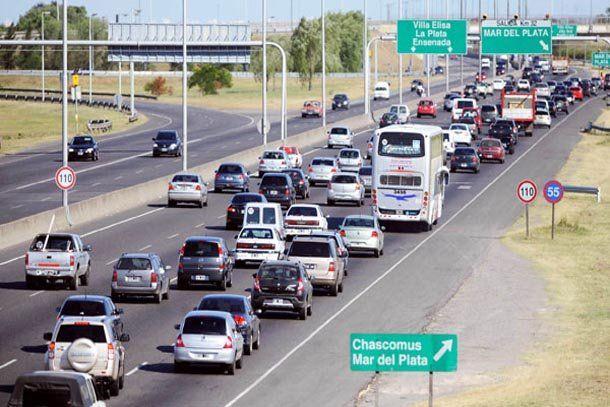 Recambio turístico: esperan 3,2 millones de autos en las rutas de todo el país durante el fin de semana