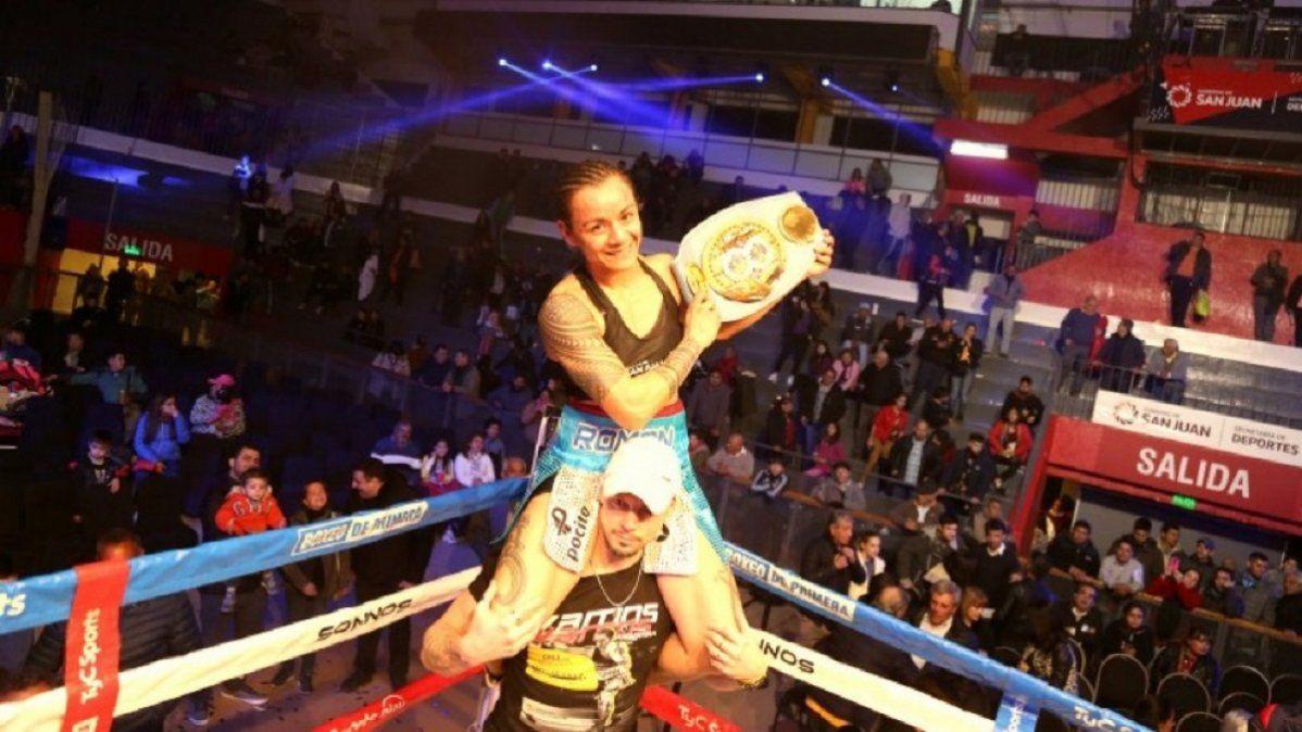 María Cecilia Román viajará a Estados Unidos para pelear ante Melissa Parker.