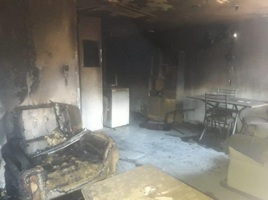 ¿El incendio de la casa en Villa América fue intencional?
