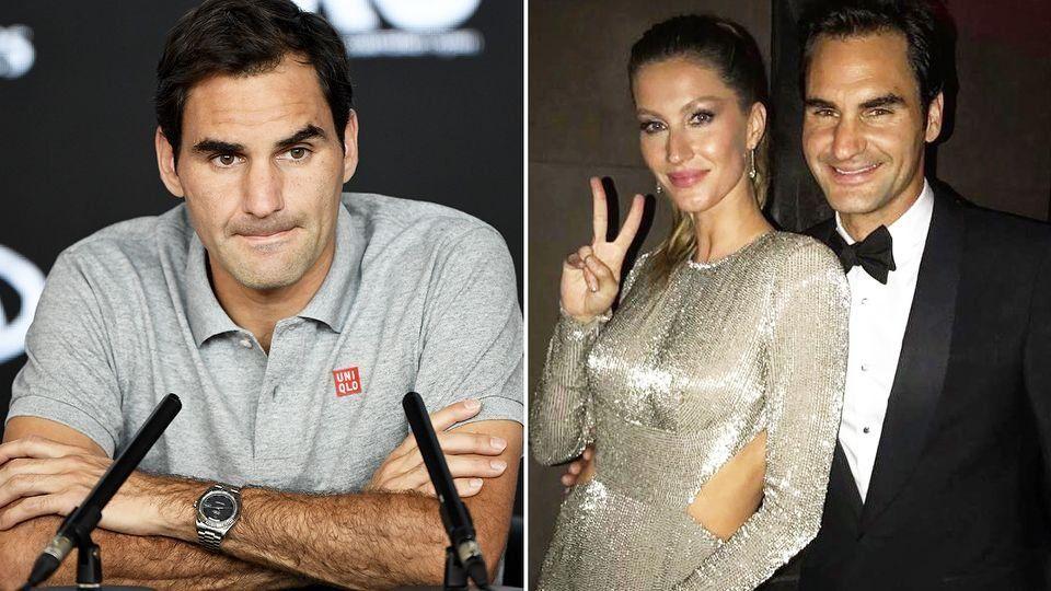 Roger Federer con Gisele Bündchen