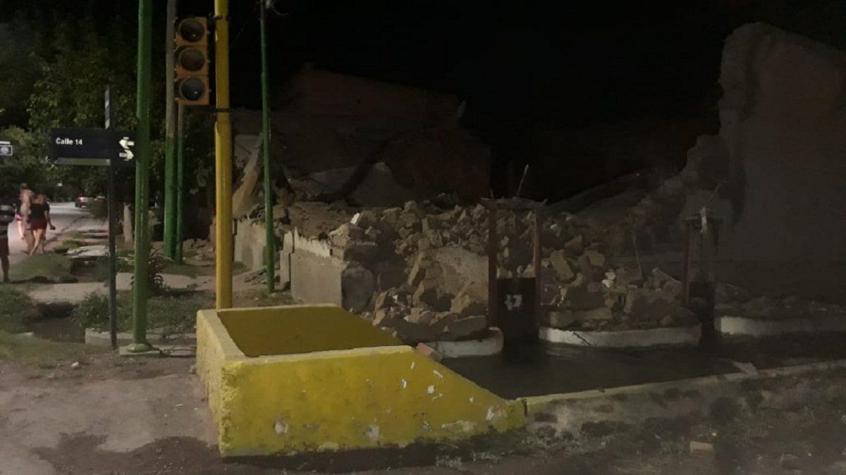 El sismo de San Juan se sintió en varias provincias del país