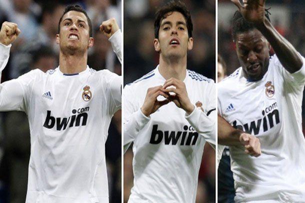 Real Madrid goleó y mantiene viva la discusión en la Liga española