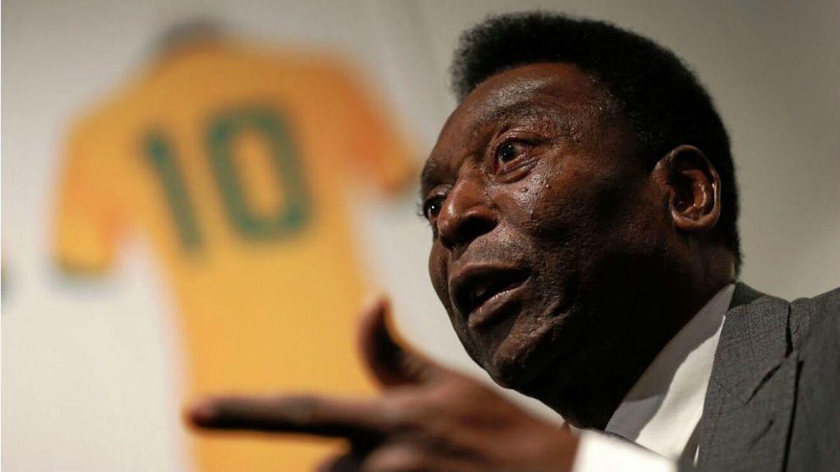 Desde hace seis días que Pelé se encuentra internado.