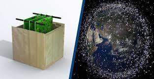 Satélites de madera que ayudan a reducir la basura espacial