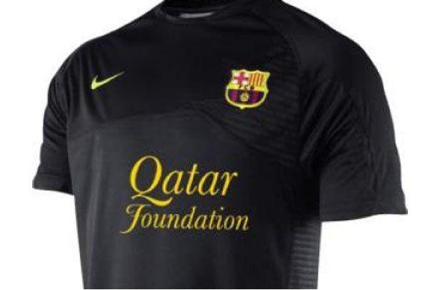 Por primer vez en la historia el Barcelona tendrá camiseta negra