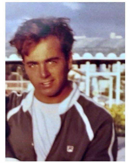 Germán Martitegui cuando tenía pelo.