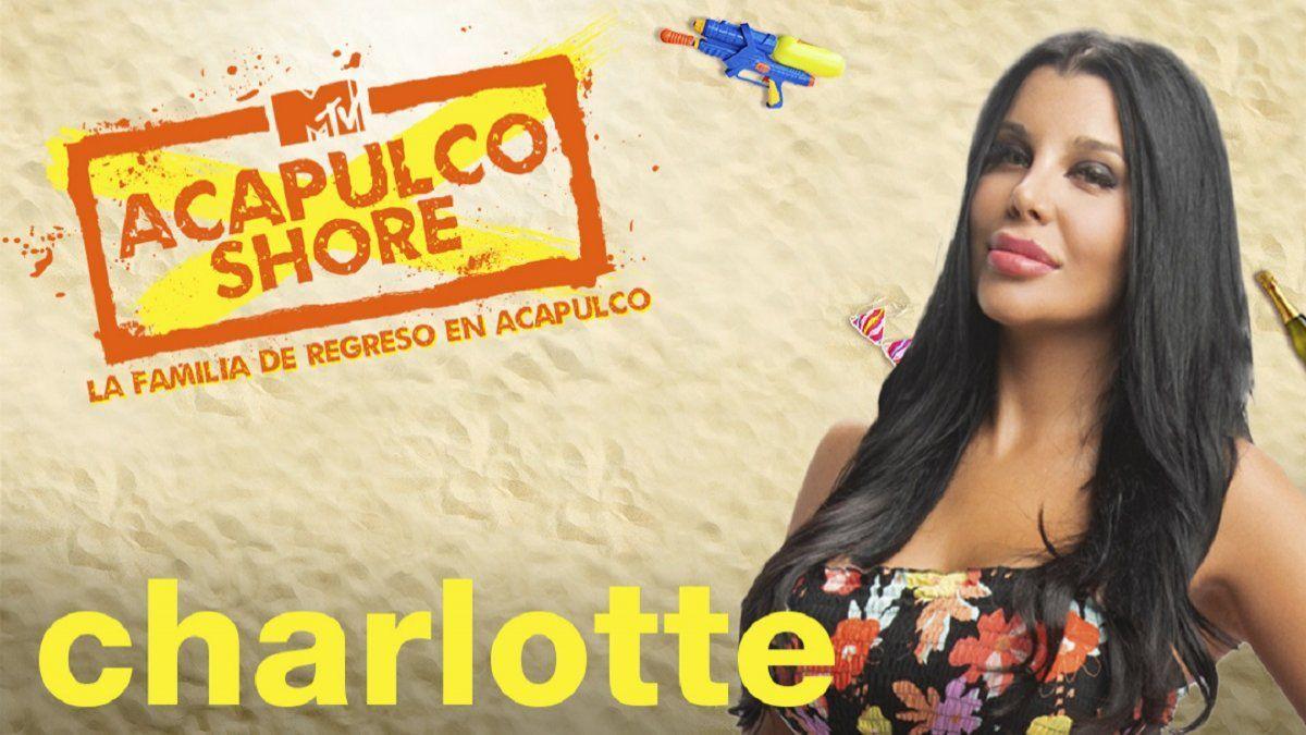 Charlotte Caniggia llegó a México para participar del reality Acapulco Shore.