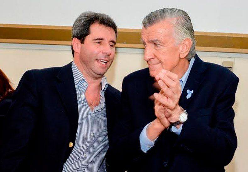 Gioja destacó el apoyo y la relación que los une a los dos candidatos
