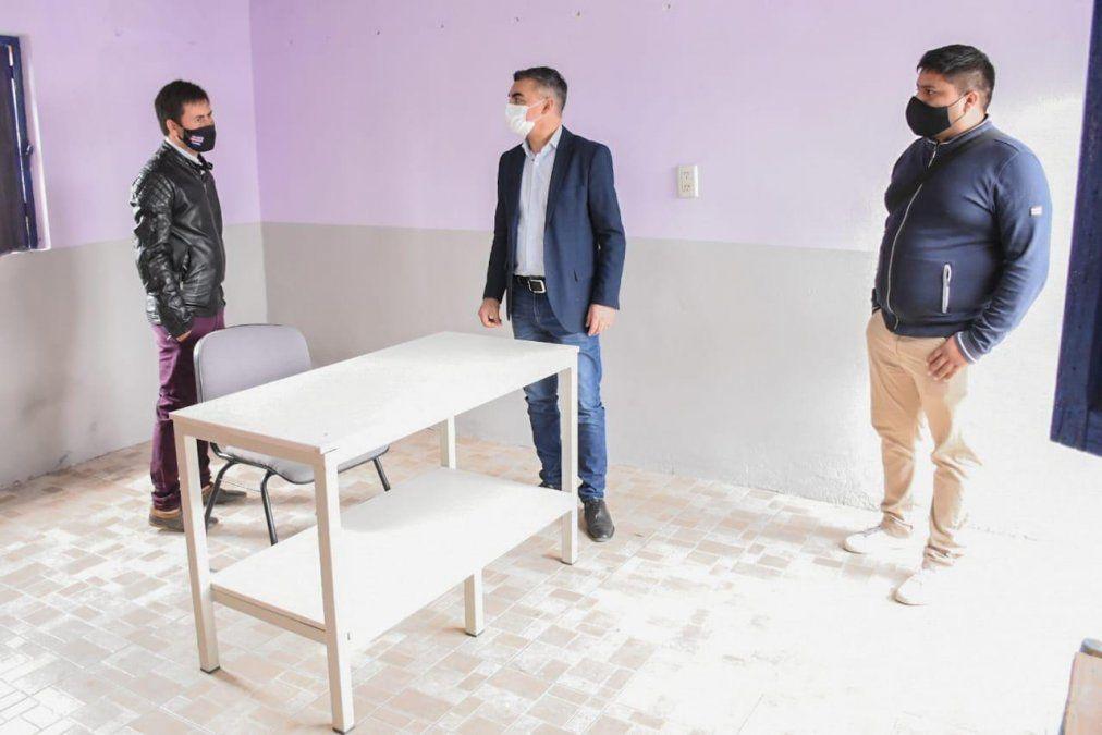Avanzan las obras en el renovado Club Juventud Atlético Rivera