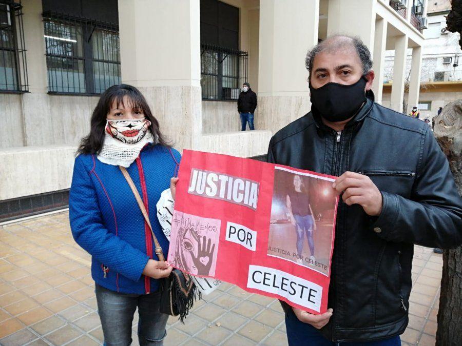 Caso Celeste Luna: los padres esperanzados en el juicio contra Mallea