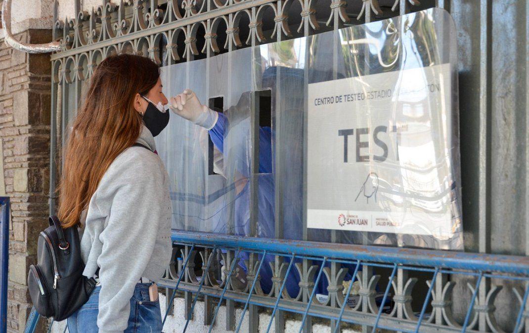 Récord de casos en San Juan: reportaron 231 nuevos positivos