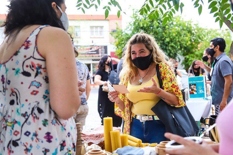 En el mes de la mujer, vuelve la Feria Manos en Pandemia