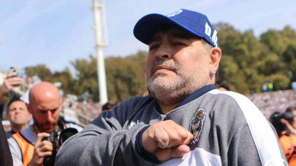 Maradona se sumó a la campaña y apoyó el autocultivo de cannabis para uso medicinal