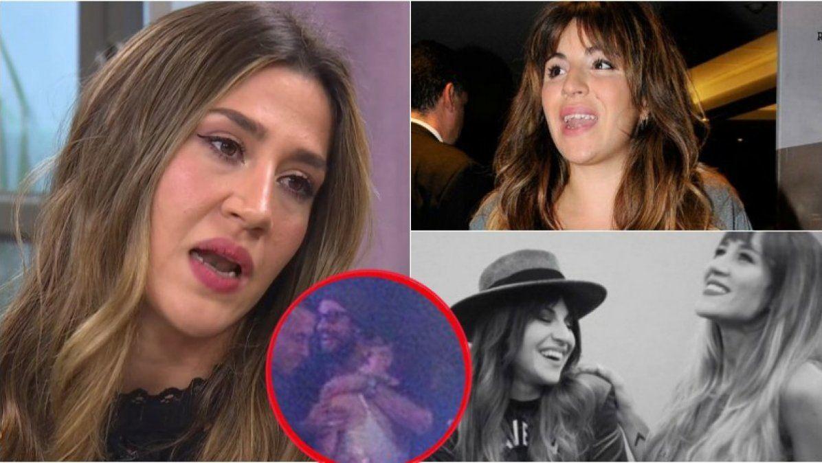 Jimena Barón opinó sobre el romance del ex futbolista con una de las hijas de Maradona.