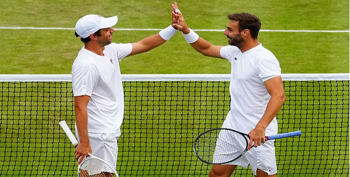 Horacio Zeballos jugará la final de dobles de Wimbledon