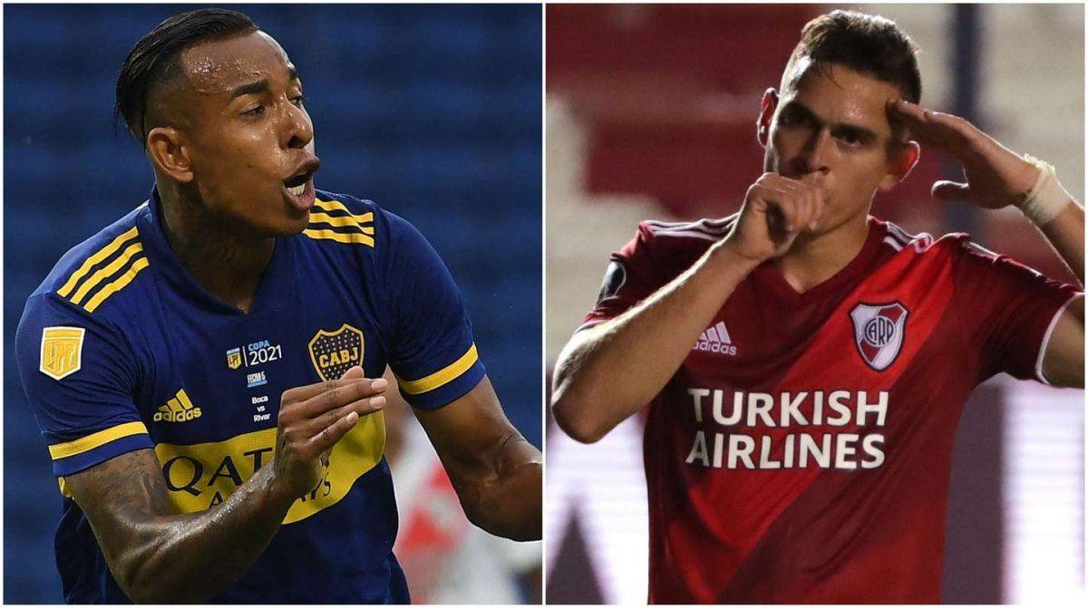 River enfrenta a Colón y Boca visita a Unión
