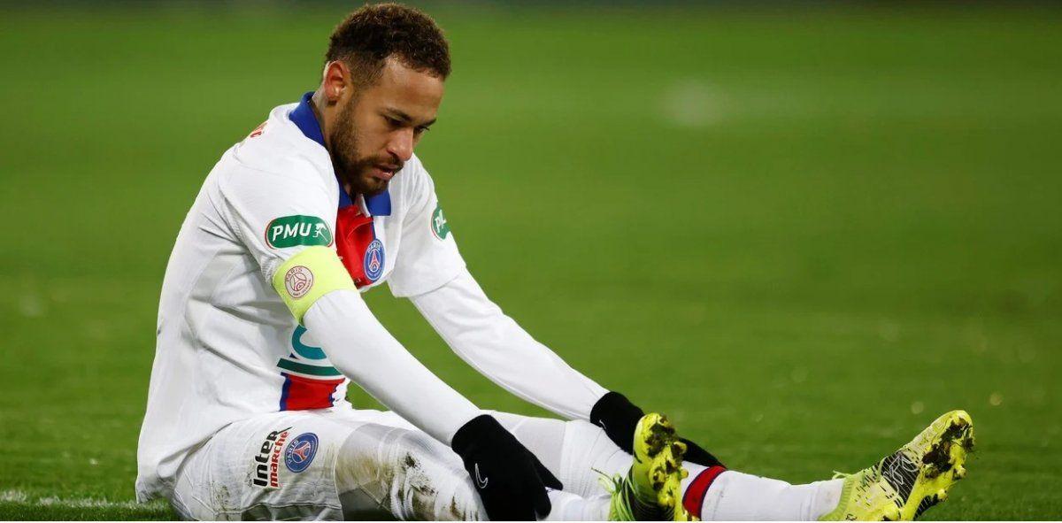 Neymar no se recuperó y se pierde el partido ante Barcelona