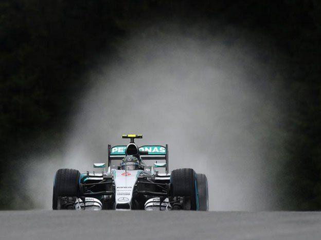 Rosberg y Hamilton lograron el 1-2 para Mercedes en el Gran Premio de Austria