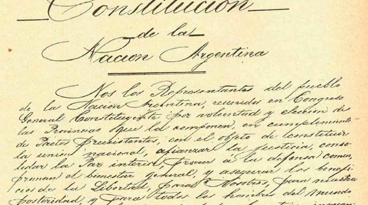 Día de la Constitución Nacional