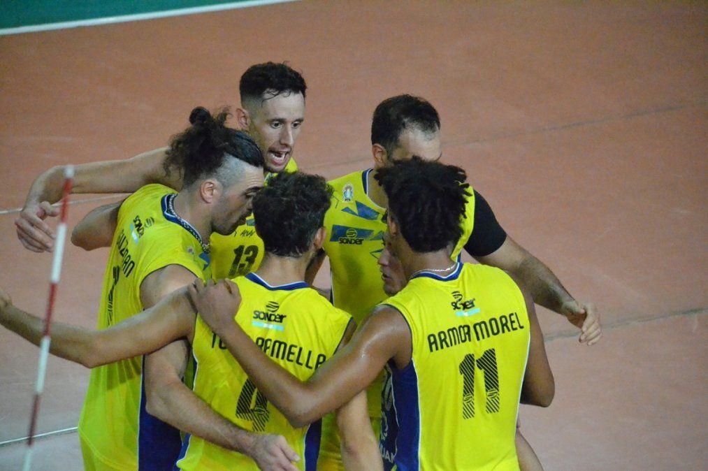 UPCN derrotó a Ciudad en el primer partido de la Liga Argentina de Vóley.