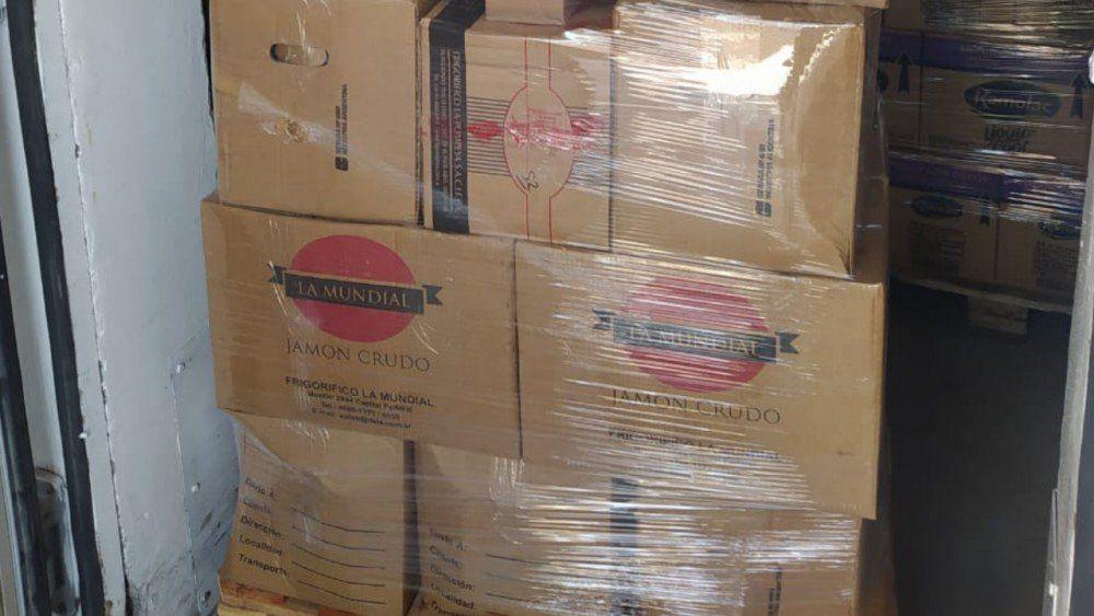 Confiscaron más de 5 mil kilos de fiambre que no contaban con habilitación