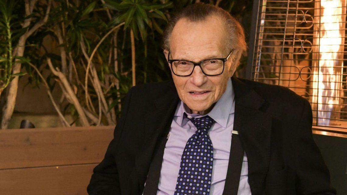 Larry King murió por coronavirus