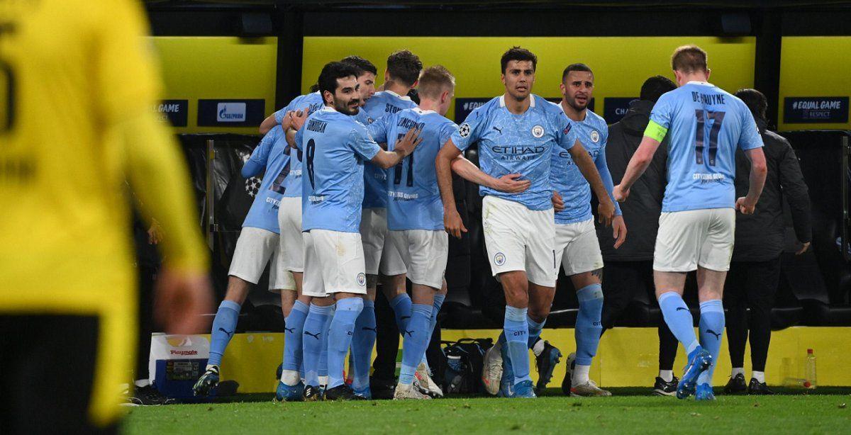 Manchester City también pasó a la semifinal de la Champions