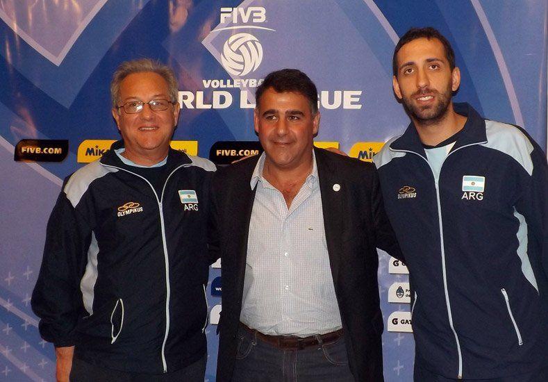 Argentina debuta en la Liga Mundial de vóley con González como capitán