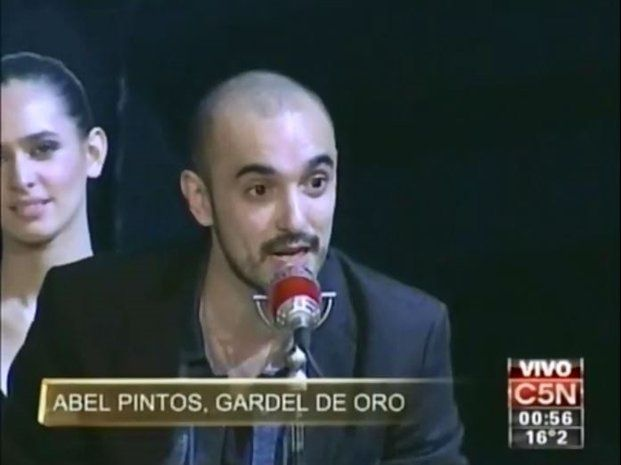 Abel Pintos se quedó con el Gardel de Oro por Mejor Álbum del Año