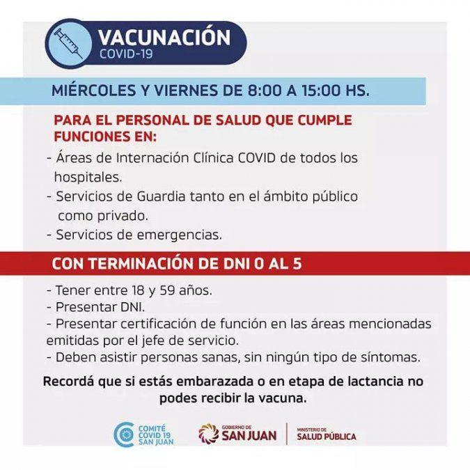 Vacunación: cómo sigue el calendario de inoculaciones
