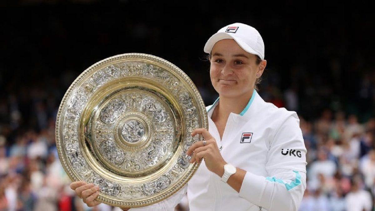 Ashleigh Barty se consagró campeona de Wimbledon