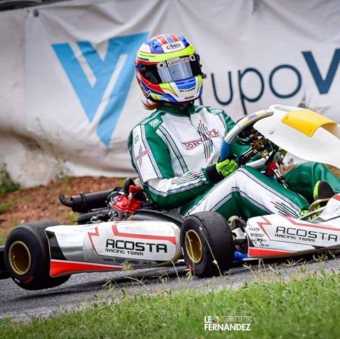 Gran actuación del piloto sanjuanino Juan Cruz Roca