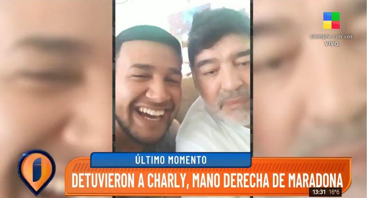 Detienen con un arma a Charly, el prófugo mencionado en la causa Maradona