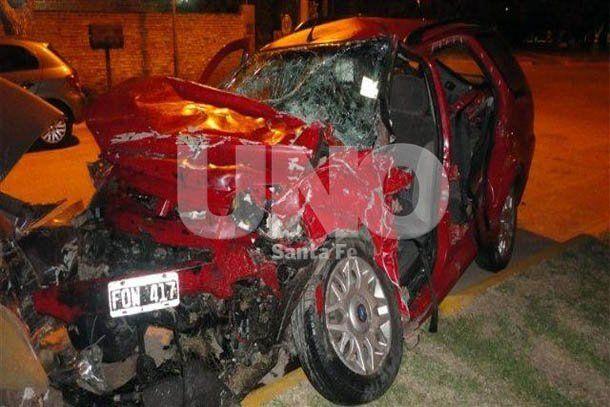 Trágico choque frontal con tres muertos, entre ellos dos niñas en Susana