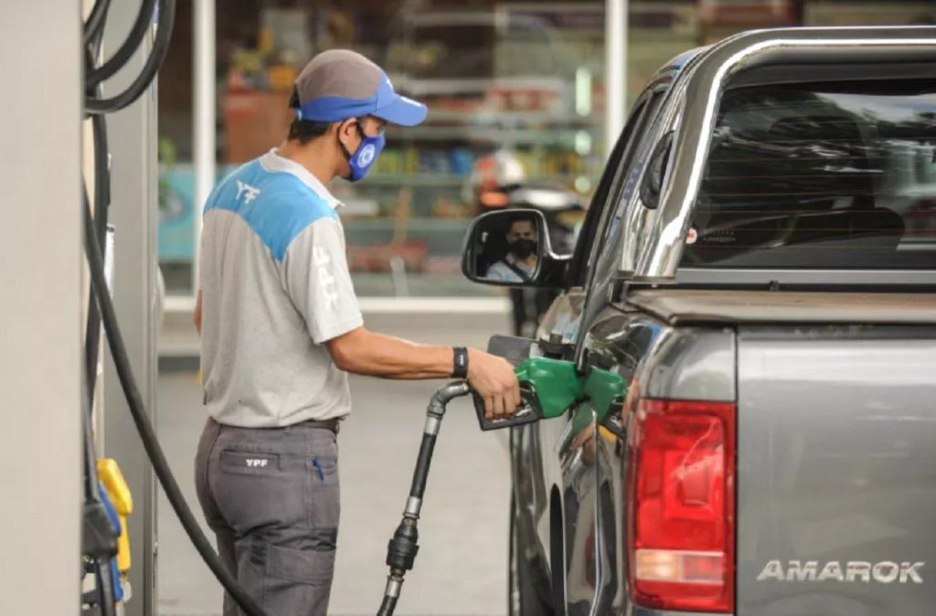 Sube la nafta.