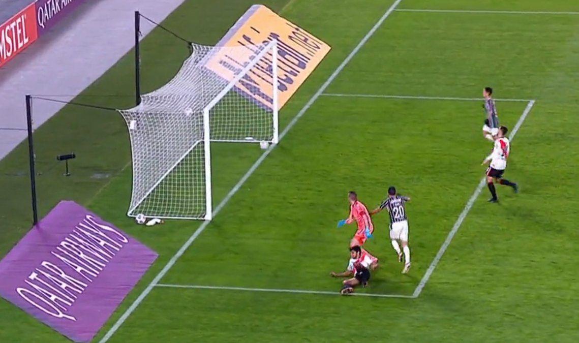 En vivo: River cae ante Fluminense y peligra su estadía en la Libertadores