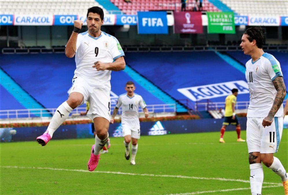 Uruguay dio la sorpresa y goleó a Colombia en Barranquilla