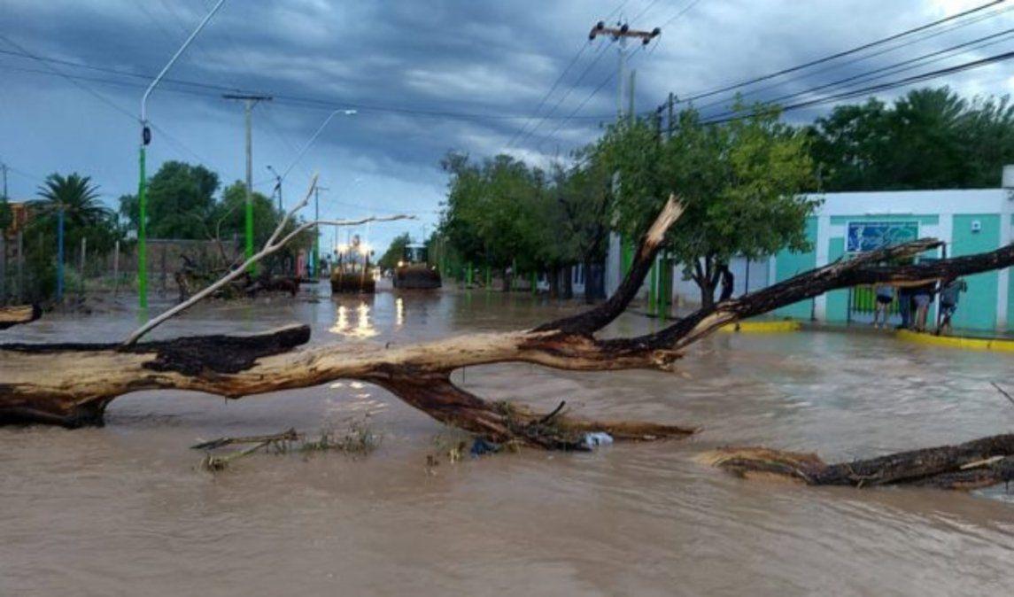 Entre 10 y 14 casas al borde del derrumbe por la intensa lluvia