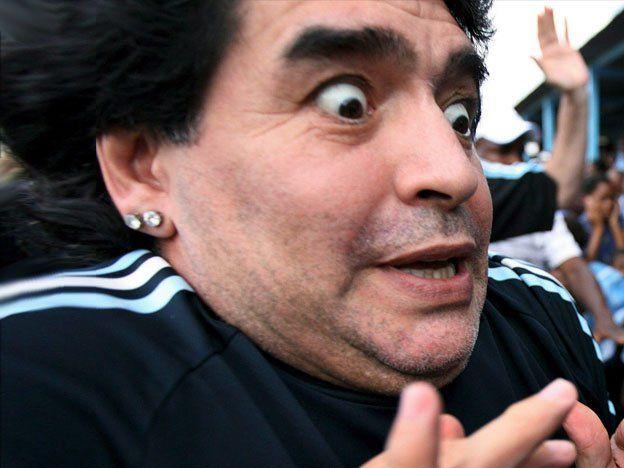 El video de la extorsión de Rocío Oliva a Diego Maradona