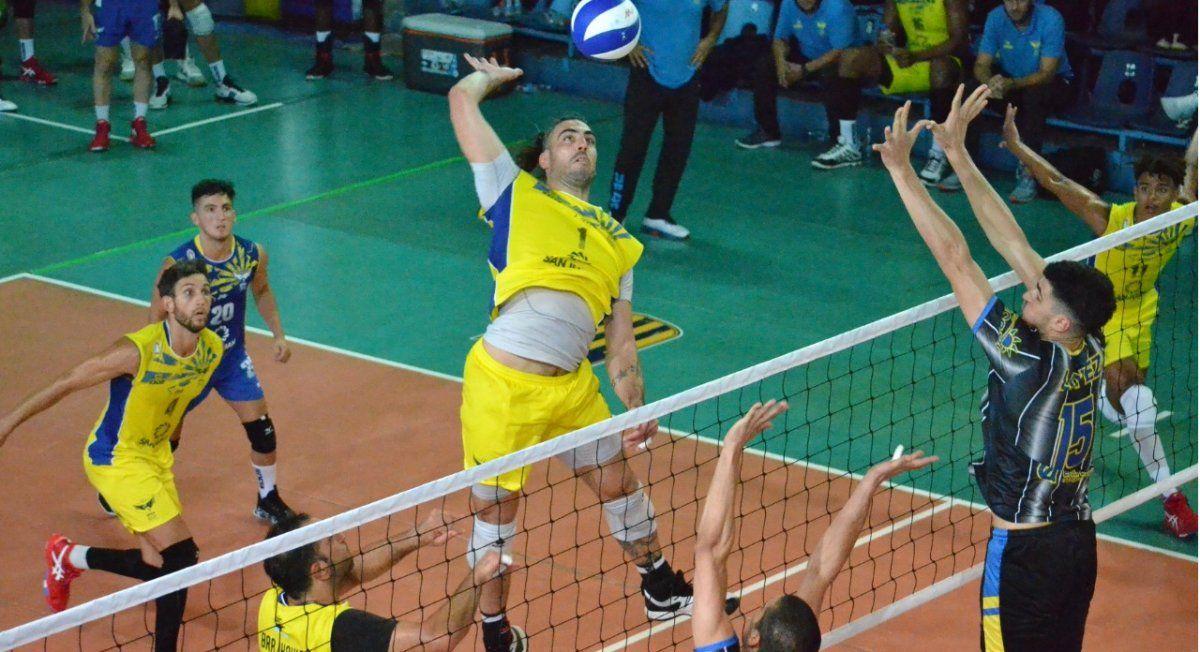 UPCN y Obras mandan en la Liga de Voleibol Argentina. Foto: Prensa Aclav.