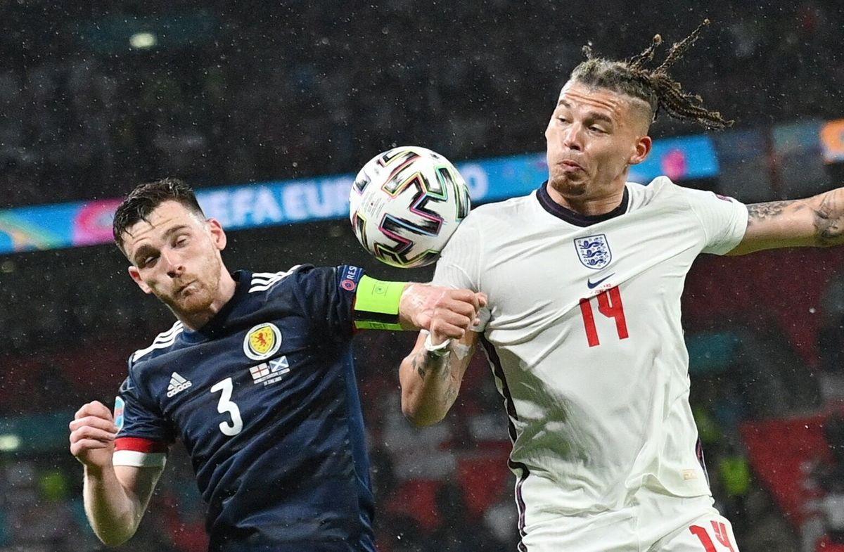 Inglaterra y Escocia igualaron 0 a 0.