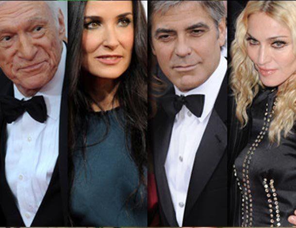 Los 20 famosos con mayor diferencia de edad con sus parejas