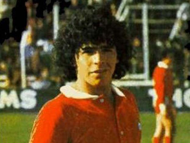 Apareció un video inédito con un golazo de Diego Armando Maradona