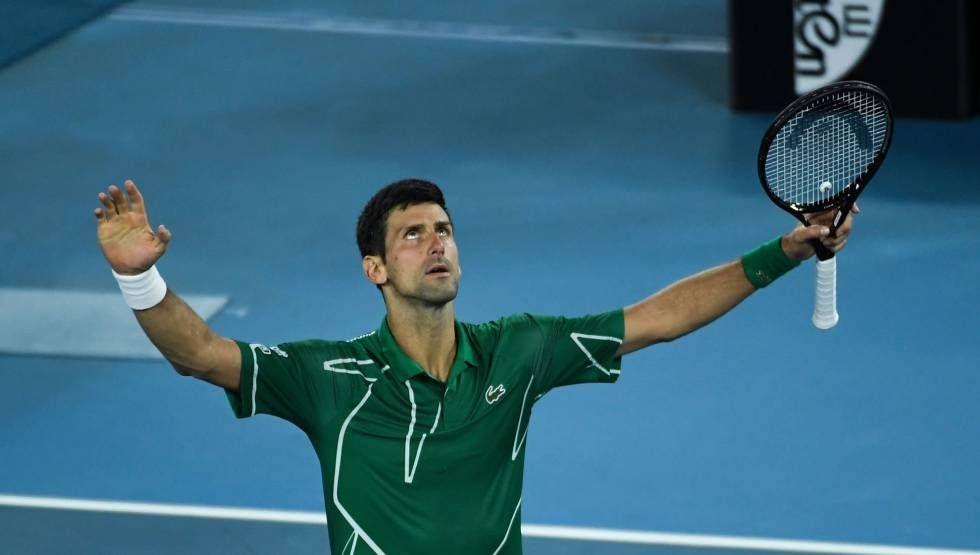 Novak Djokovic venció a Dominic Thiem y sigue siendo el rey de Australia