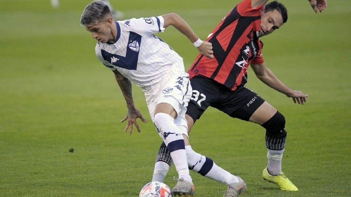 Vélez derrotó 1 a 0 a Patronato.