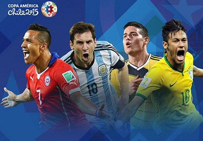 Comienza la fiesta: conocé el fixture completo de la Copa América