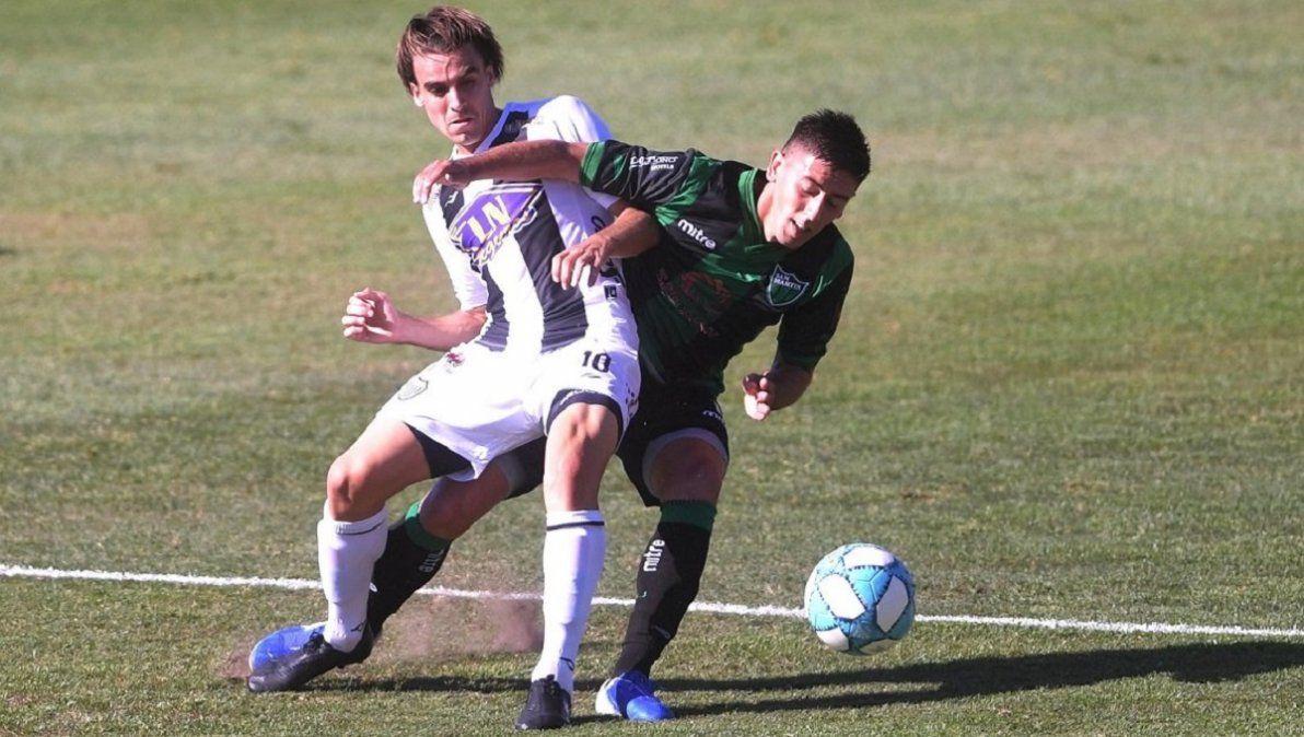 San Martín perdió 3 a 1 ante Estudiantes y se despidió de su sueño de ascenso. Foto: Télam.