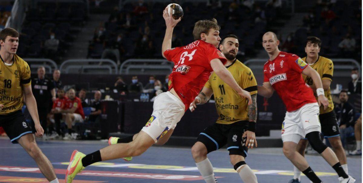 Argentina no pudo con Dinamarca en el Mundial de Handball.