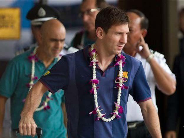 El Barça llegó a Tailandia para comenzar su gira asiática