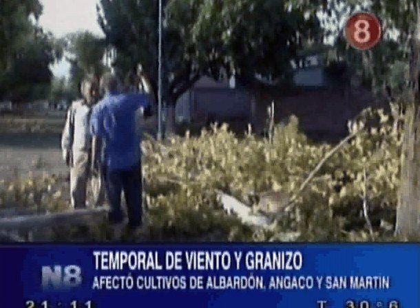 Después del tornado: hay 21 familias evacuadas en Albardón